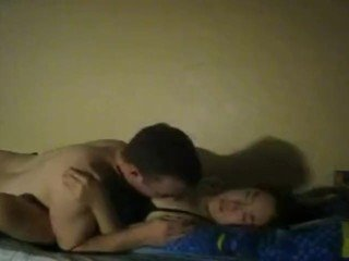 Very intimate and raw missionary fuck time for the girl