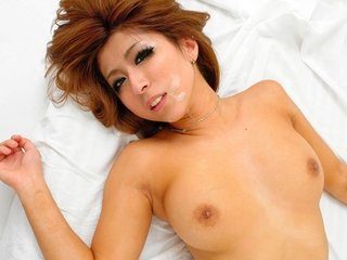 Japanese wife, Haru Sakuraba getting a wild, hardcore fuck,