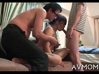 Horny milf acquire down on hard penis