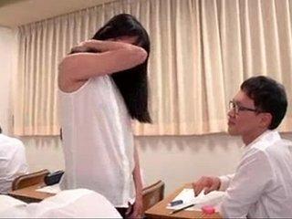 Asian teacher likes sex