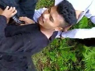 Sadiya college boy and doll rock hard fuck outdoor lovemaking
