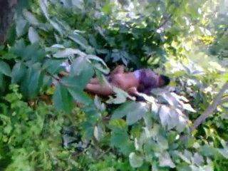 Outdoor sex in jangal