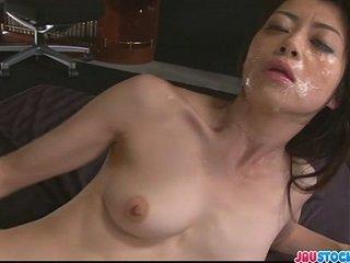 Hot Japanese spread out Hojo Maki manhandled
