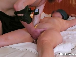 her chinese economize waited in a catch lobby to the fullest extent a finally we filmed.. spew massage